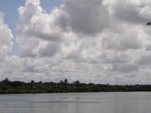 Vista do Rio São Francisco em Brejo Grande - Sergipe