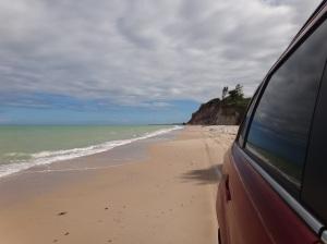 Passeio com ASX - Praia do Carro Quebrado