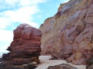 Falésias - Praia do Carro Quebrado