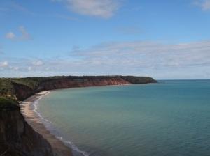 Vista do Morro da Praia do Carro Quebrado