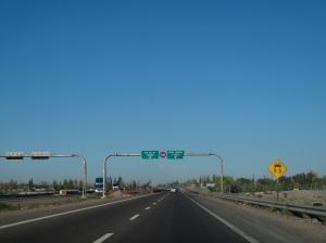 Saindo de Mendoza