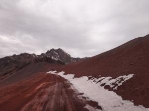 Las Cuevas - Gelo em Abril