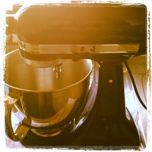 Minha batedeira Kitchen aid Artisan