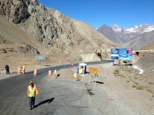 Obras trecho Mendoza-Santiago