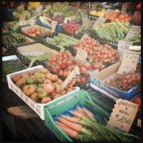 Mercado em Roma - tudo muito fresco
