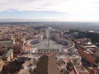 Vista do Vaticano, vale a visita!