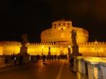 Castelo de Santo D'angelo a noite
